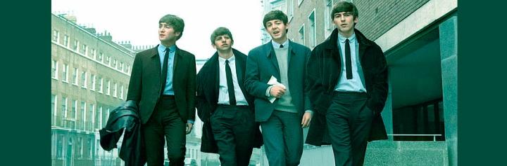 Los Beatles: John, Ringo, Paul y George