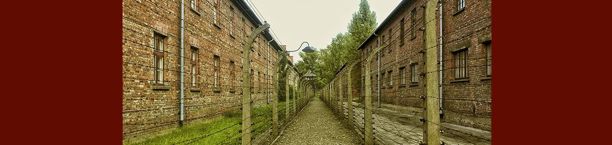 Fotografía de un campo de concentración