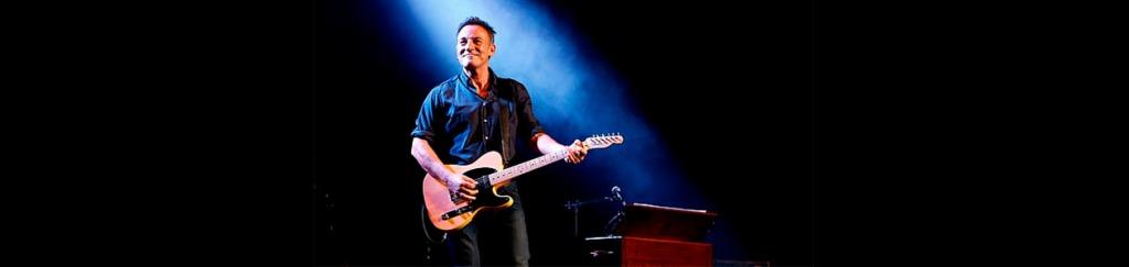 Springsteen feliz en el escenario