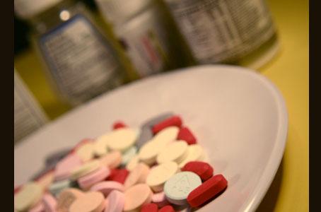 Anfetaminas y otra medicación para no dormir