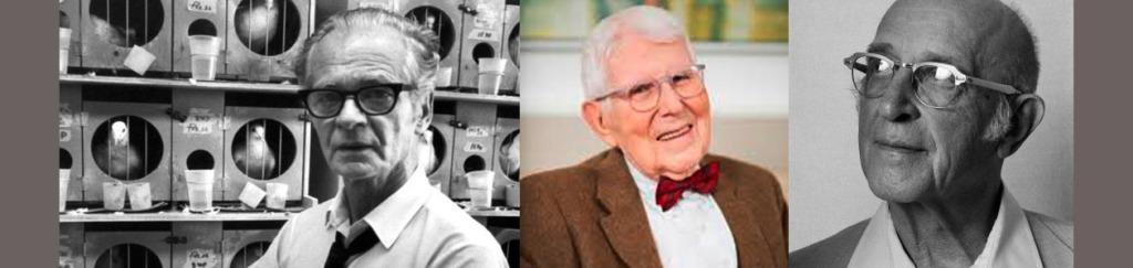 Skinner, Beck y Rogers, tres genios de la Psicología